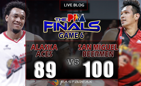Pba2016 Philippine Cup Finals Game 6 Alaska Aces Vs San Miguel Beermen Fastbreak Com Ph